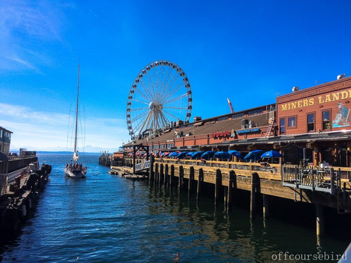 Seattle Waterfront, Wheel