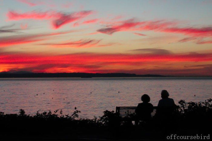 Edmonds sunset Seattle