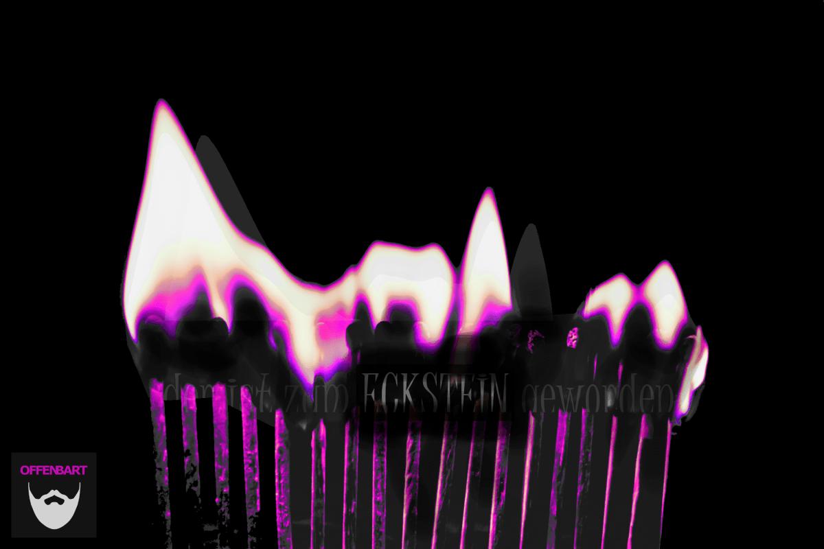 Bildnachweis: Matchstick in the Dark by Jamie Street Unsplash.com License, bearbeitet von Lukas Klette.