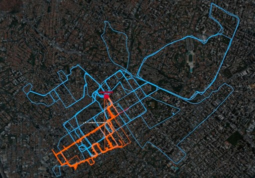 forage tracking – mapping informal recycling