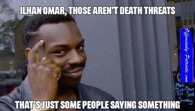 just some people saying something