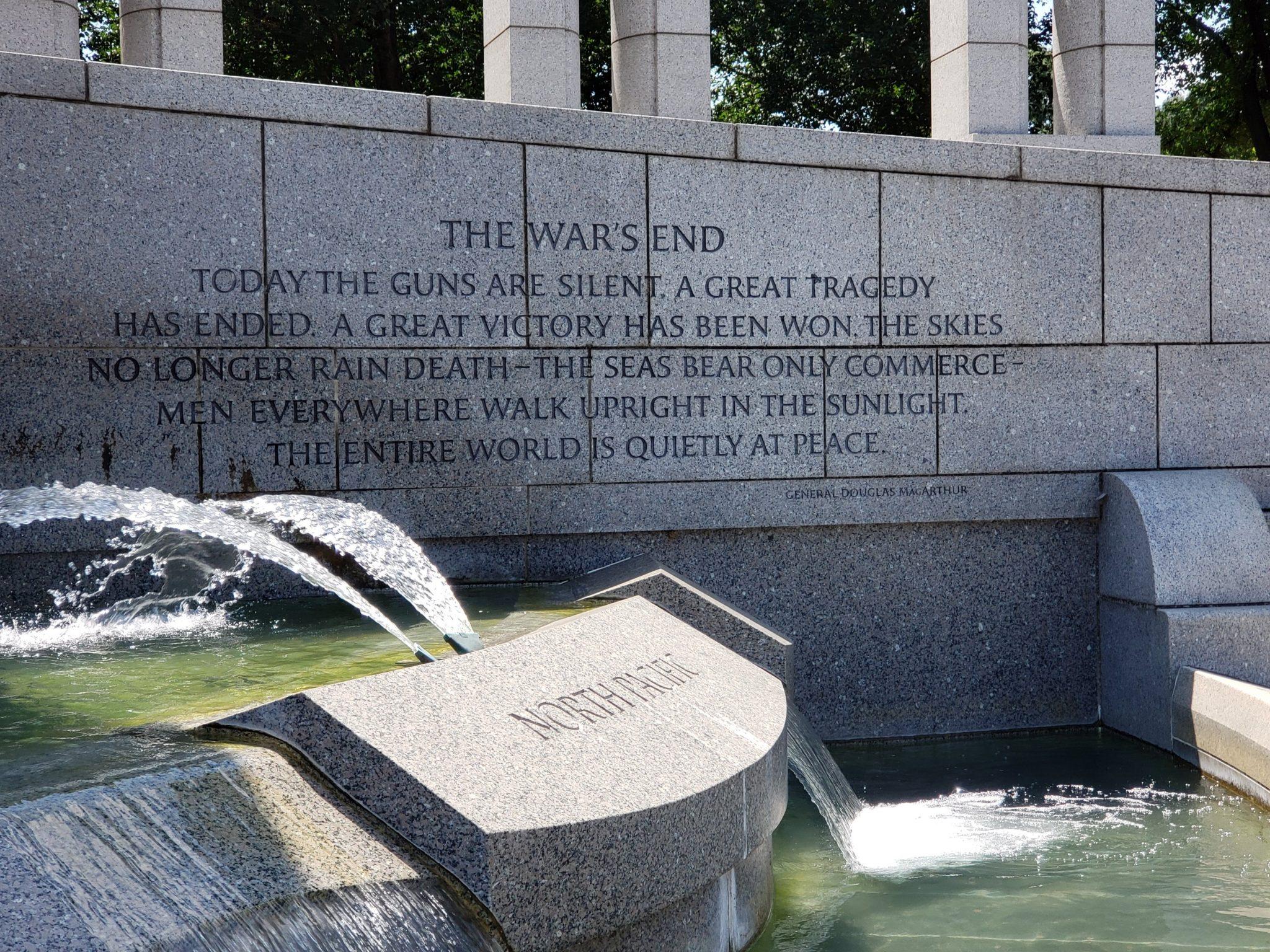 World War 2 Memorial 3