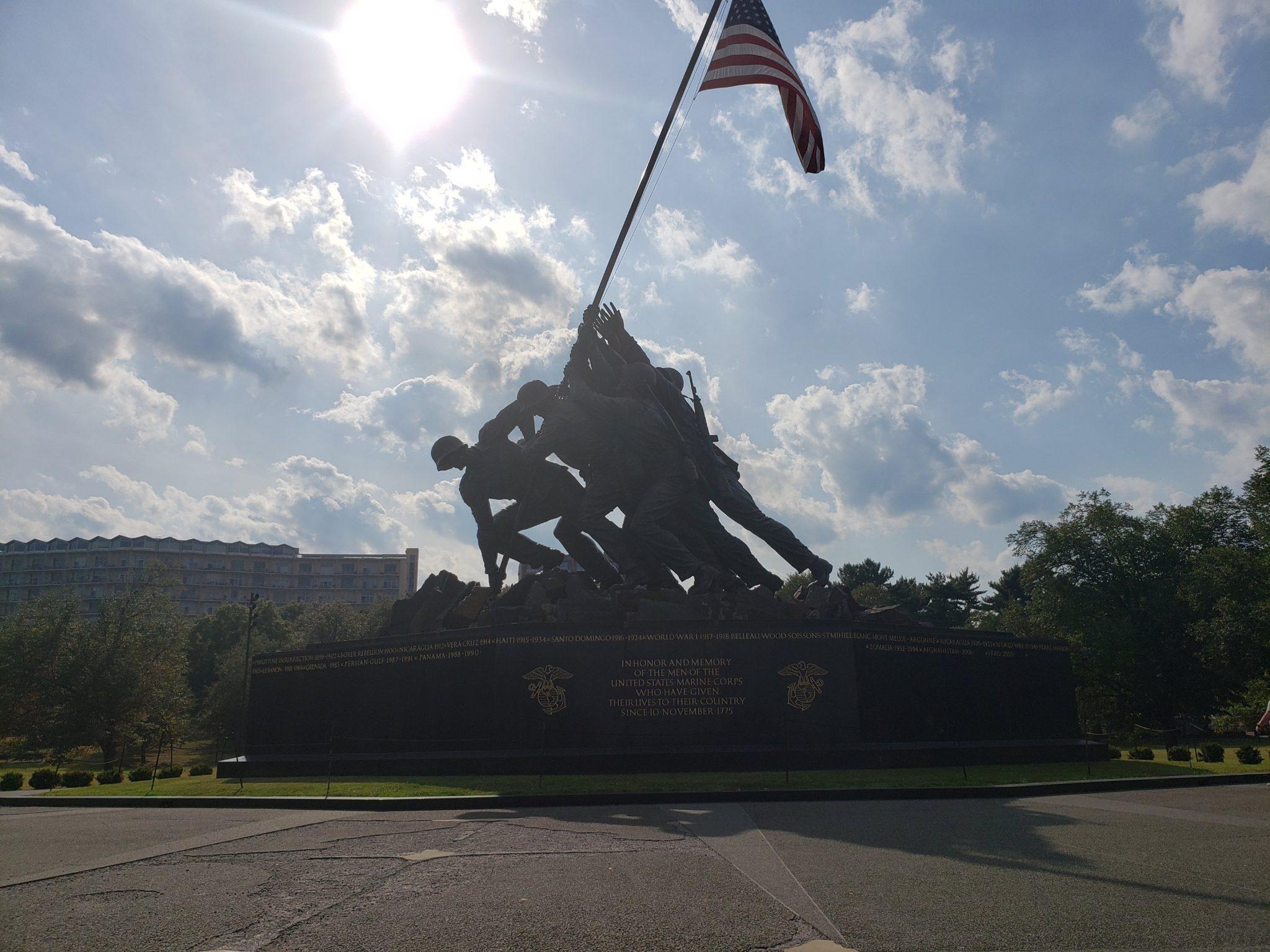 USMC War Memorial 2