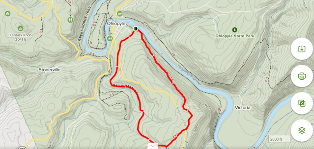 Ohiopyle hike maps