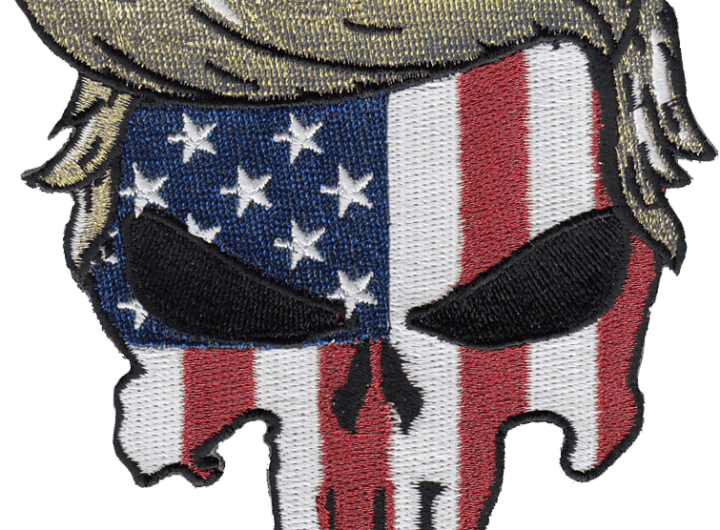 Trump Punisher US Flag Patch