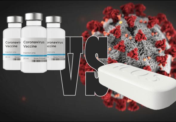 COVID19 vaccine vs hydroxychloroquine feature