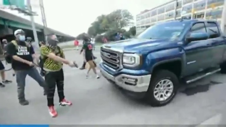 VIDEO: Indianapolis Rioters Stop Traffic With Firearms and… Children?