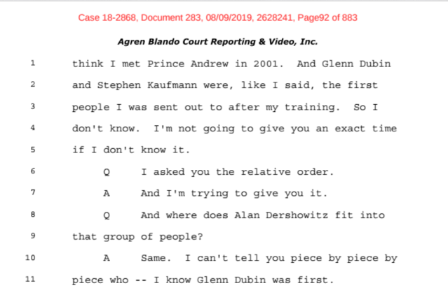 Investigation: The Accusations from the Ghislaine Maxwell Document Release: Part 2 2