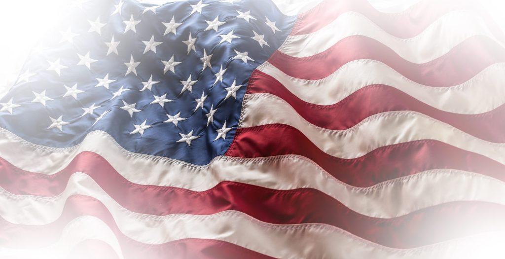 Hazy USA Flag