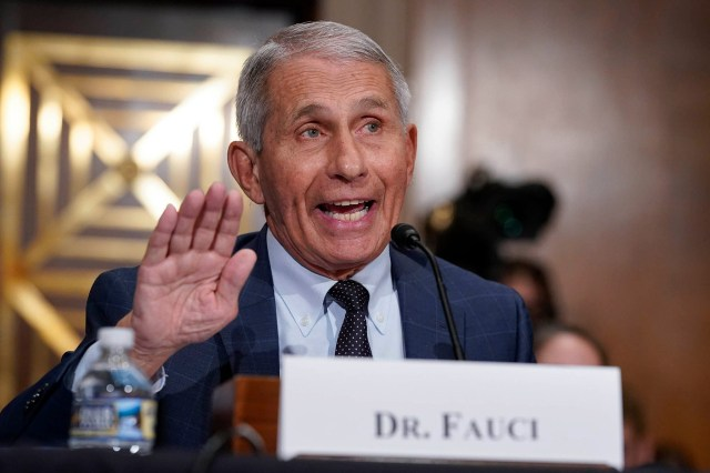 Anthony Fauci Lied About Gain-of-Function