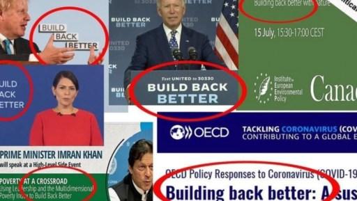 infrastructure bill - Build Back Better
