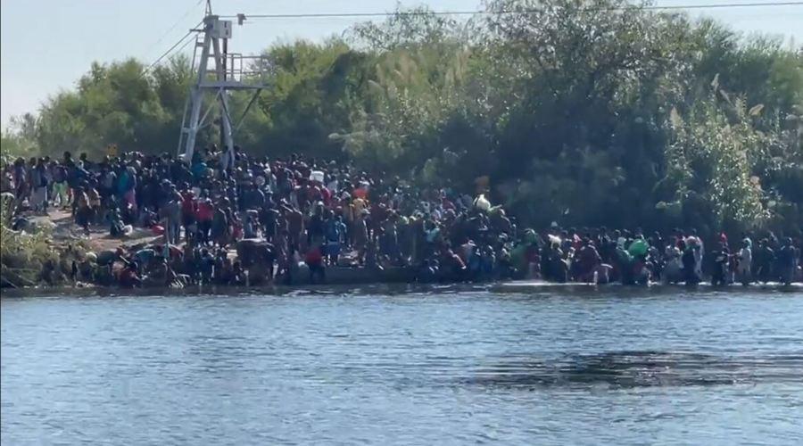 Major Crisis At The Border: Border Czar, Kamala Harris, Tosses Coin At Howard-Hampton Football Game Instead Of Addressing The Invasion 1
