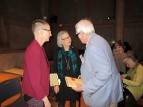 D.A. Dirks, Pat Relf, Rev. Robert Hare