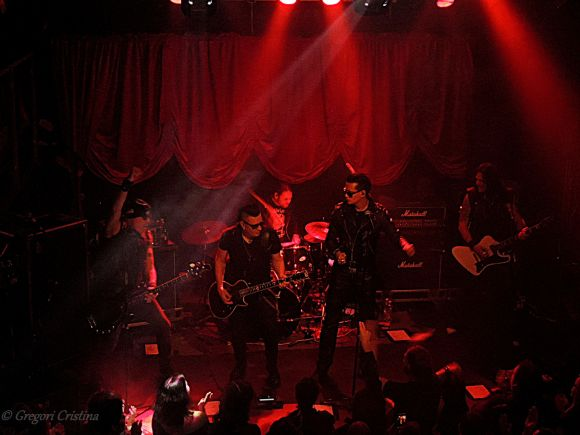 The 69 eyes live in Pori, Finland 12.02.2016