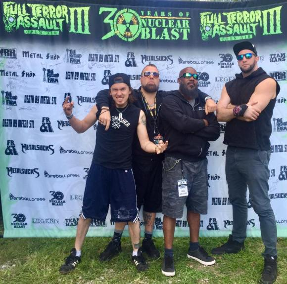 Dead By Wednesday Interview at Full Terror Assault Open Air