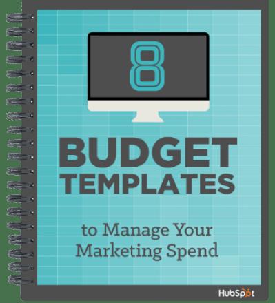 2018 Marketing Budget Free Templates