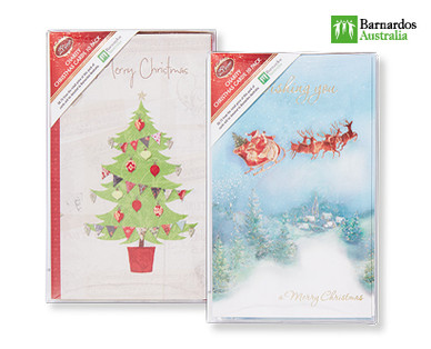 CHARITY CHRISTMAS CARDS 10PK Aldi Australia Specials
