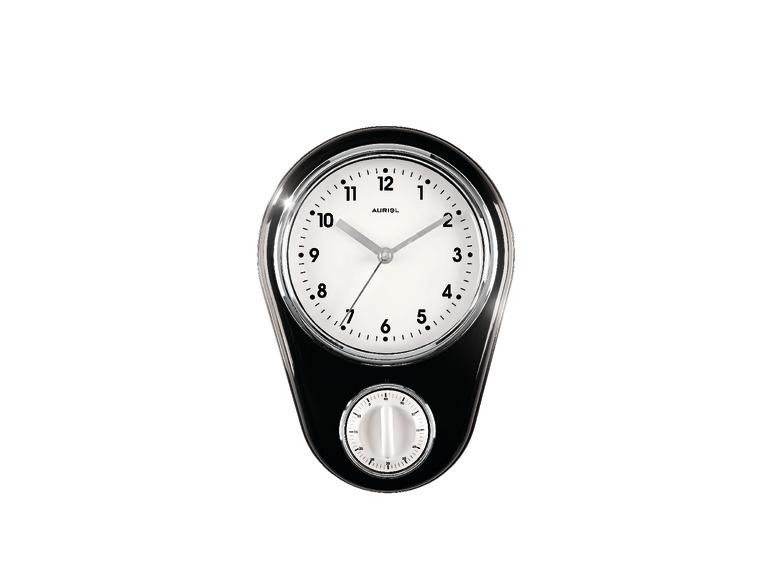 Horloge Murale De Cuisine Avec Minuteur Lidl France