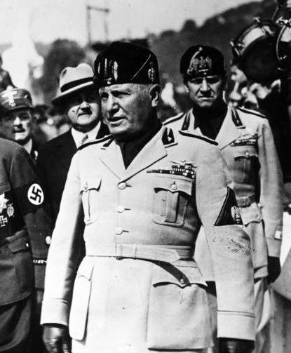Italien, deutsche Frontkämpfer in Rom