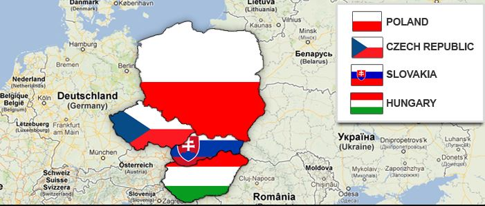 visegrad group hung czech slovakia polan