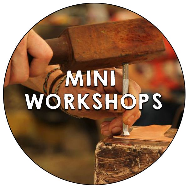hands-on craft workshops