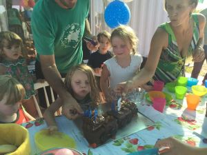 Birthday party. 5 years now!