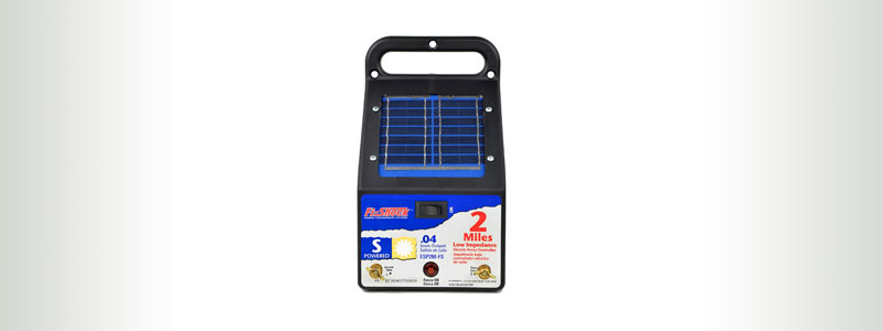 Fi-Shock 2-Mile Solar Fence Charger