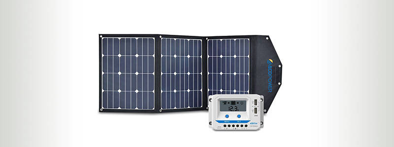 AcoPower 120W Foldable Solar Charger
