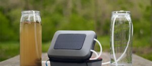 GoSun Flow Water Purifier: Solar-Based Water Purifier, Portable Hand Washer, and Shower