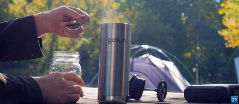 GoSun Brew Coffee Maker for Off-Grid Coffee Making