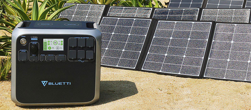 MAXOAK-BLUETTI-1700WH-SOLAR-GENERATOR Power Station