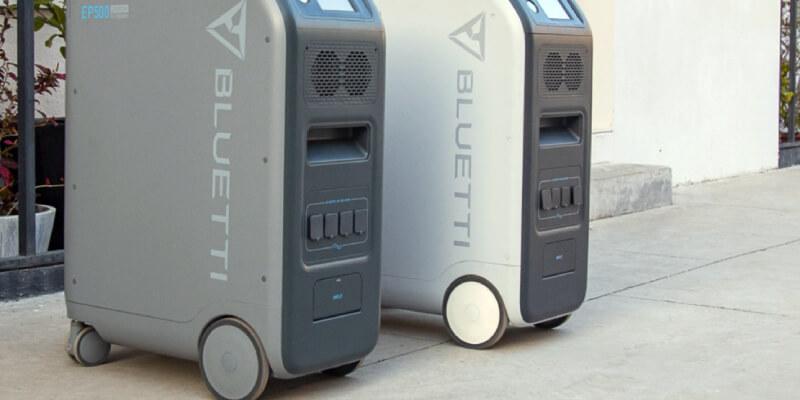 Bluetti EP500 Portable Power Station