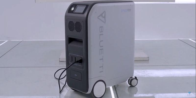 Bluetti EP500 Solar Generator