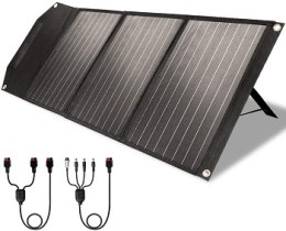 Rockpals 60W Folding Solar Charger