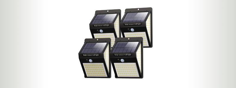 LITIGO-140-LED-OUTDOOR-SOLAR-FENCE-LIGHTS