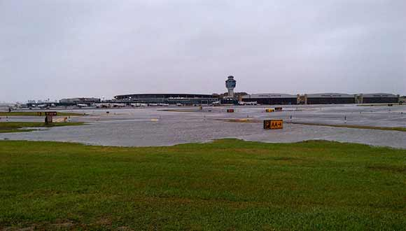 LaGuardia Airport Flooding