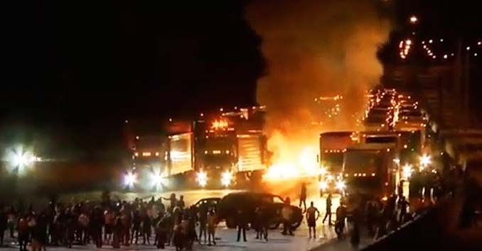 Image result for rioting and looting in charlota nc