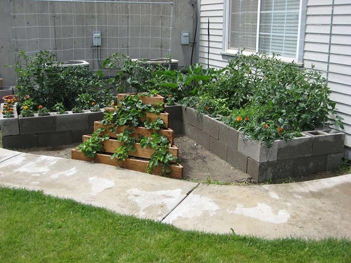 Minimalist Blcok Garden