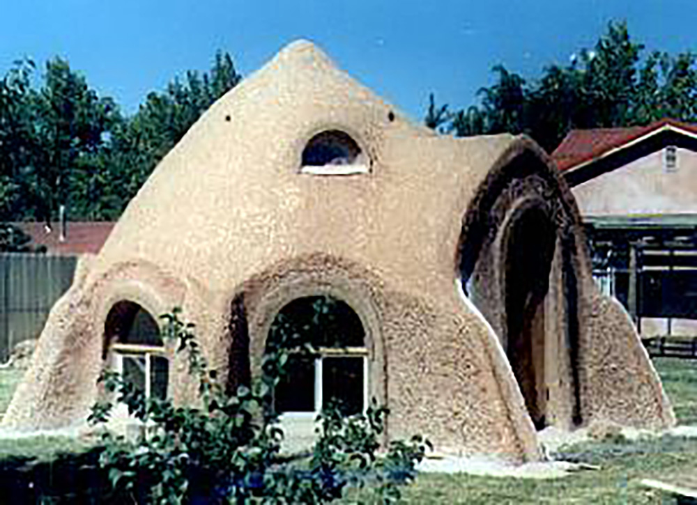 earthbag home building