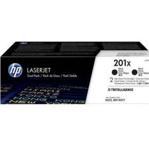 HP 201X 2er-Pack Schwarz Original LaserJet