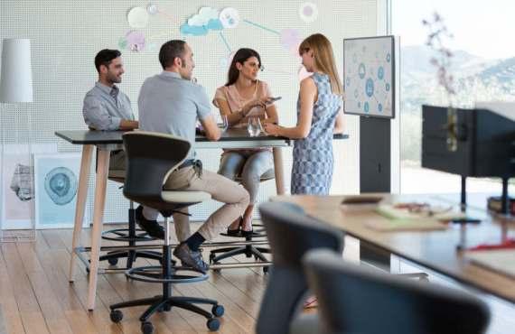 Gesund im Büroalltag - Rückengerechte Büromöbel