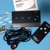 HDMI切替器 BSAK302