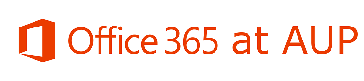 Office 365 @ AUP