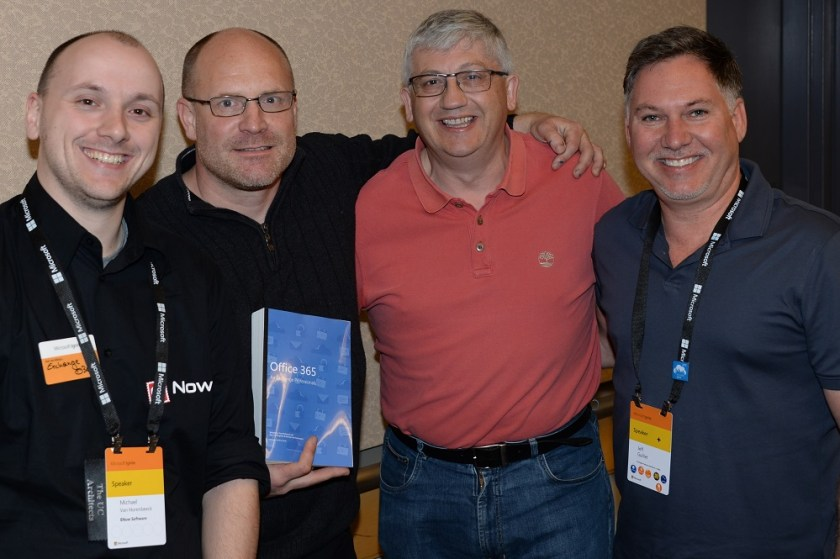 Office 365 book launch at Ignite 2015