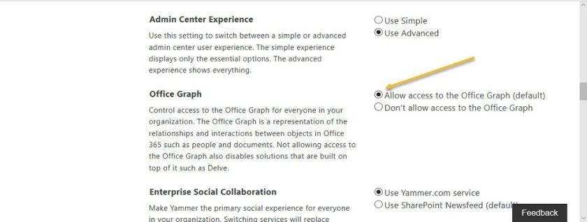No Graph for SharePoint
