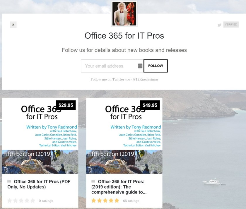 Office 365 for IT Pros 5-star rating