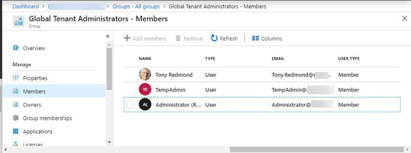 Checking the membership of a dynamic Office 365 group
