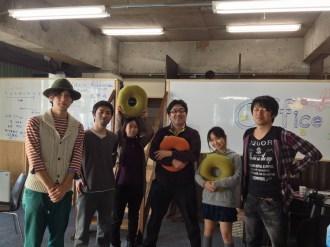 ゆるふわ勉強会の皆さんに来ていただきまして、クッションをいただきました。ありがとうございます!