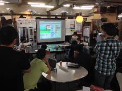 小学生・中学生向けプログラミング教室(CoderDojoさいたま第6回)を開催しました。