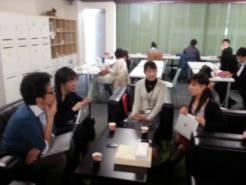 北海道大学から、宇田忠司准教授と阿部智和准教授が、コワーキングスペース7Fにお越しになりました。